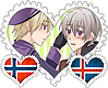NorIce OTP Stamp by World-Wide-Shipping