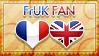 Hetalia FrUK Fan - Stamp by World-Wide-Shipping