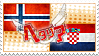 Hetalia NorCro Stamp by World-Wide-Shipping