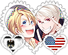 PrUS OTP Stamp by World-Wide-Shipping