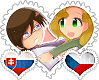 SloCzech OTP Stamp by World-Wide-Shipping