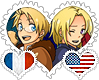 FrUS OTP Stamp by World-Wide-Shipping