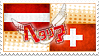 Hetalia AustroSwiss Stamp by World-Wide-Shipping