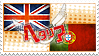 Hetalia EngPort Stamp by World-Wide-Shipping