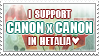 I support Canon x Canon in Hetalia by World-Wide-Shipping