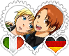 ItaGer OTP Stamp by World-Wide-Shipping