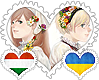 HunUkr OTP Stamp by World-Wide-Shipping