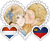 LuxLiech OTP Stamp by World-Wide-Shipping