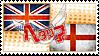 Hetalia UKEN Stamp by World-Wide-Shipping
