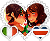 RomaRica OTP Stamp by World-Wide-Shipping