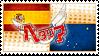 Hetalia Spainska Stamp by World-Wide-Shipping