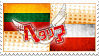 Hetalia LietPol Stamp by World-Wide-Shipping