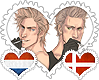 NethDen OTP Stamp by World-Wide-Shipping