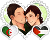 AlgPale OTP Stamp by World-Wide-Shipping