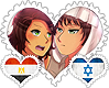 Egyprael OTP Stamp by World-Wide-Shipping