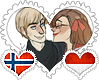 NorMona OTP Stamp by World-Wide-Shipping