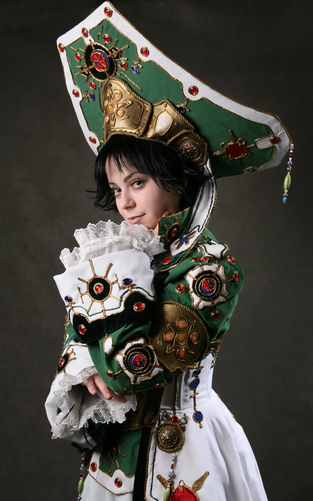 Seth Nightlord. Trinity Blood Cosplay by alberti