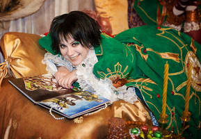 Smile. Trinity Blood Cosplay by alberti