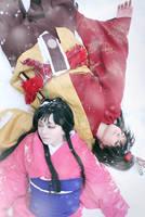 Sengoku Basara: Nene and Keiji by alberti