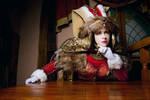 Warhammer Cosplay Oueen's thoug by alberti