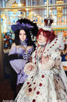 Trinity Blood Cosplay: Esther and Jane