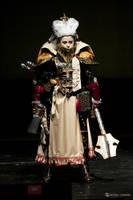Warhammer 40 000 Inquisitor on Stage by alberti