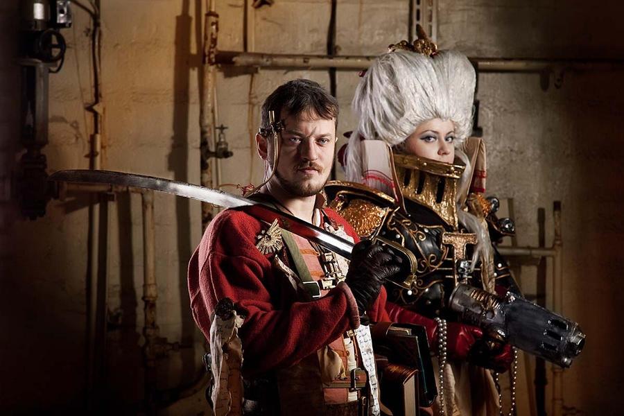 Warhammer 40 000 Cosplay: Inquisition Team by alberti
