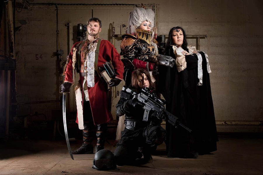 Warhammer: Inquisition Team Cosplay by alberti