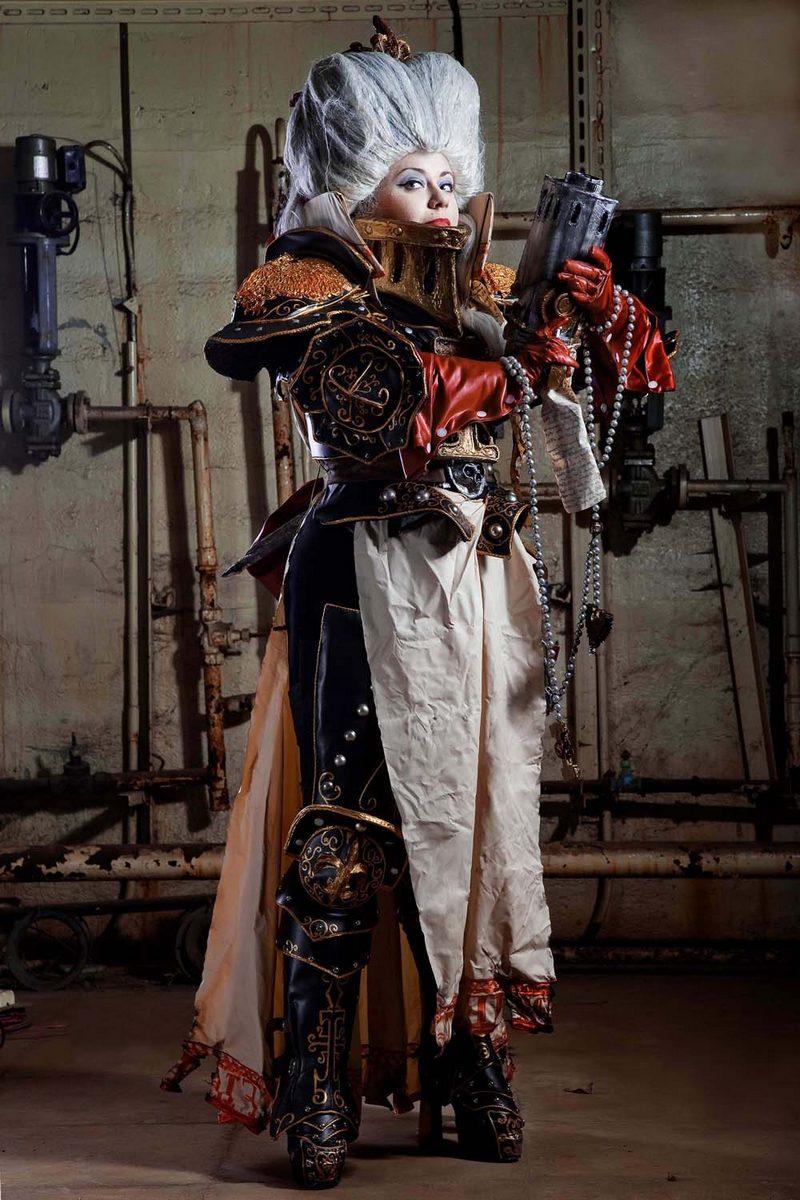 Warhammer 40 000: Lady Inquisitor by alberti