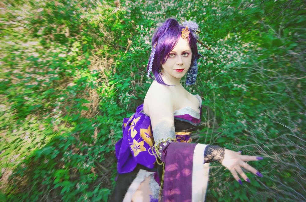 Samurai Warriors Cosplay: Nohime By Alberti On DeviantArt