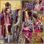Sengoku Taisen Cosplay - Kinhime in details