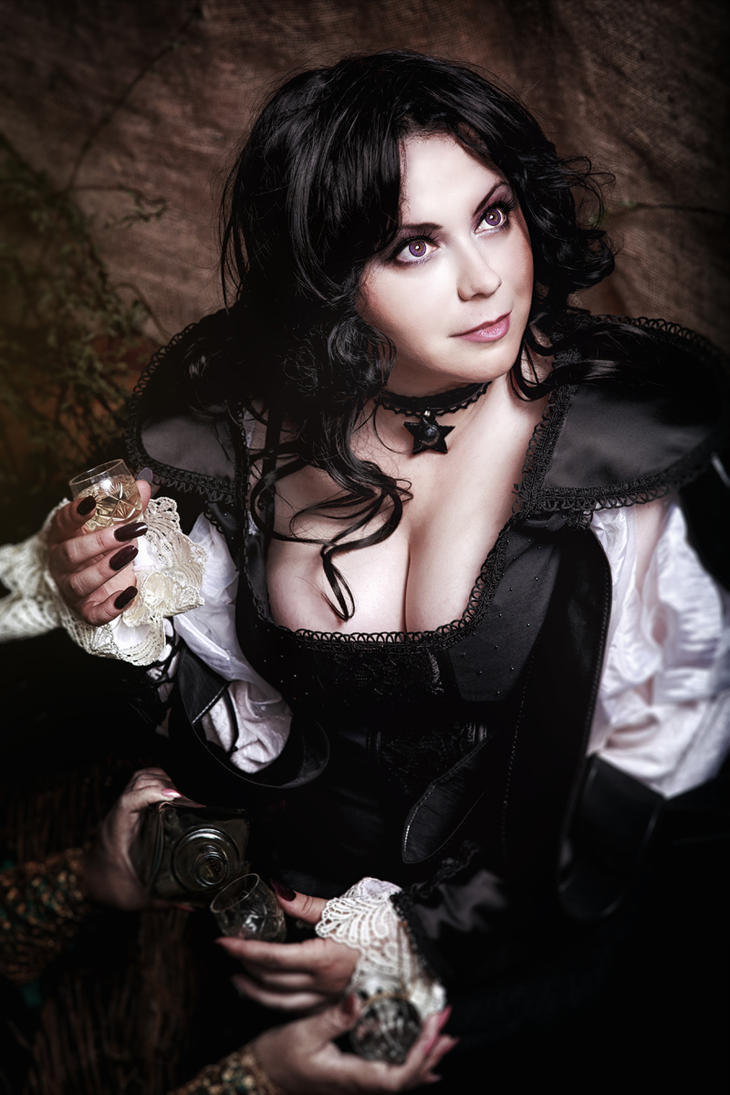 The Witcher (Wiedzmin) cosplay: Yennefer by alberti