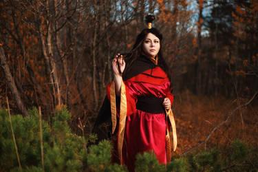Ursa in Exile - Avatar TLA cosplay