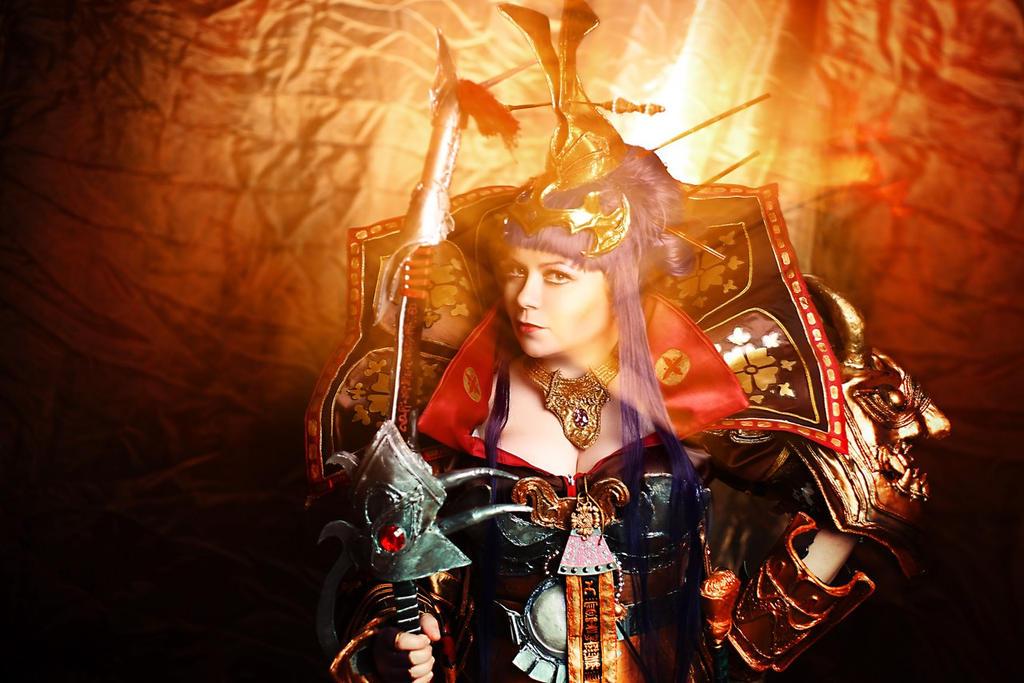 Atlantica Online Cosplay - Empress Himiko by alberti