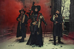 Warhammer Time! Inquisition Cosplay