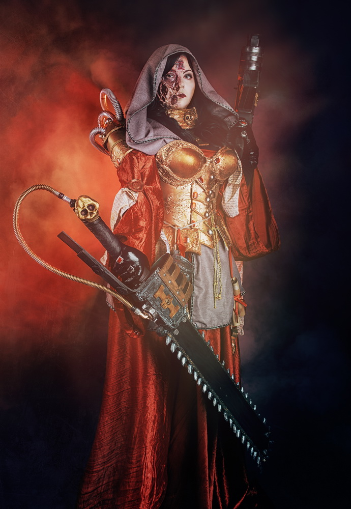 Warhammer 40,000 Cosplay - Inquisitor Ordo Malleus