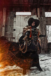 Inquisitor Ordo Hereticus - Warhammer 40k cosplay by alberti