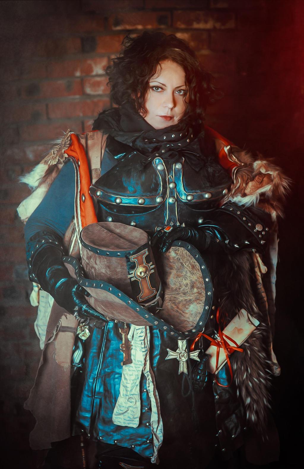 Warhammer 40 000 Cosplay - Inquisitor by alberti