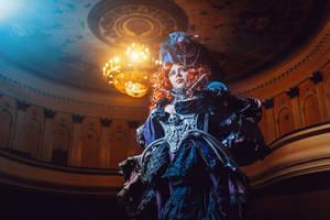 Warhammer 40 000 - Imperial Noblewoman cosplay by alberti