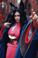 Kitsune - original cosplay by alberti