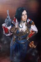Captain Reinette Torres Warhammer 40.000 Cosplay by alberti