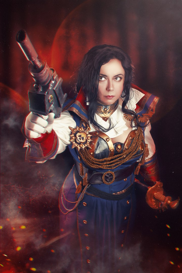 Warhammer 40 000 Cosplay - Rogue Trader by alberti