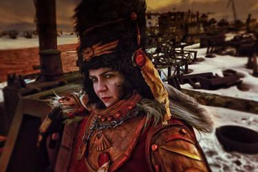 Vostroyan Firstborn: Warhammer 40000 cosplay by alberti