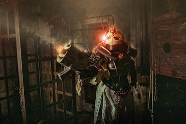 Warhammer 40,000 Cosplay - Sister of Battle by alberti