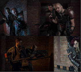 Meanwhile on Necromunda: Warhammer 40000 Cosplay 1 by alberti