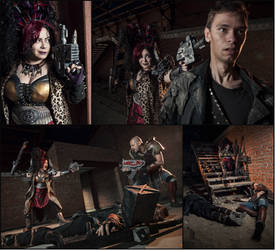 Meanwhile on Necromunda: Warhammer 40000 Cosplay 2 by alberti