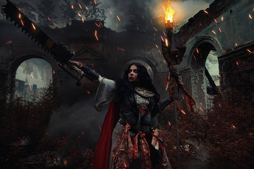 Warhammer 40000 Cosplay: Missionarus Galaxia Agent