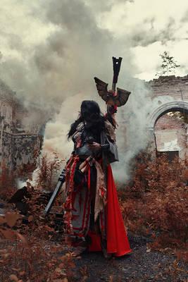 Warhammer 40000 Cosplay: Missionarus Galaxia Agen