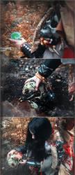 Warhammer 40000 Cosplay: Missionarus Galaxia Agent by alberti