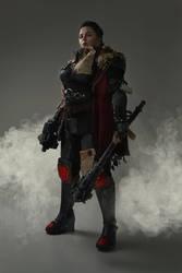 Warhammer 40,000 cosplay - Adeptus Arbites